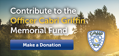 Button to donate for support Officer Cabri Griffin.